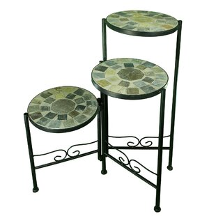 05c12969e Fleeton Mosaic Multi-Tiered Plant Stand. by Fleur De Lis Living
