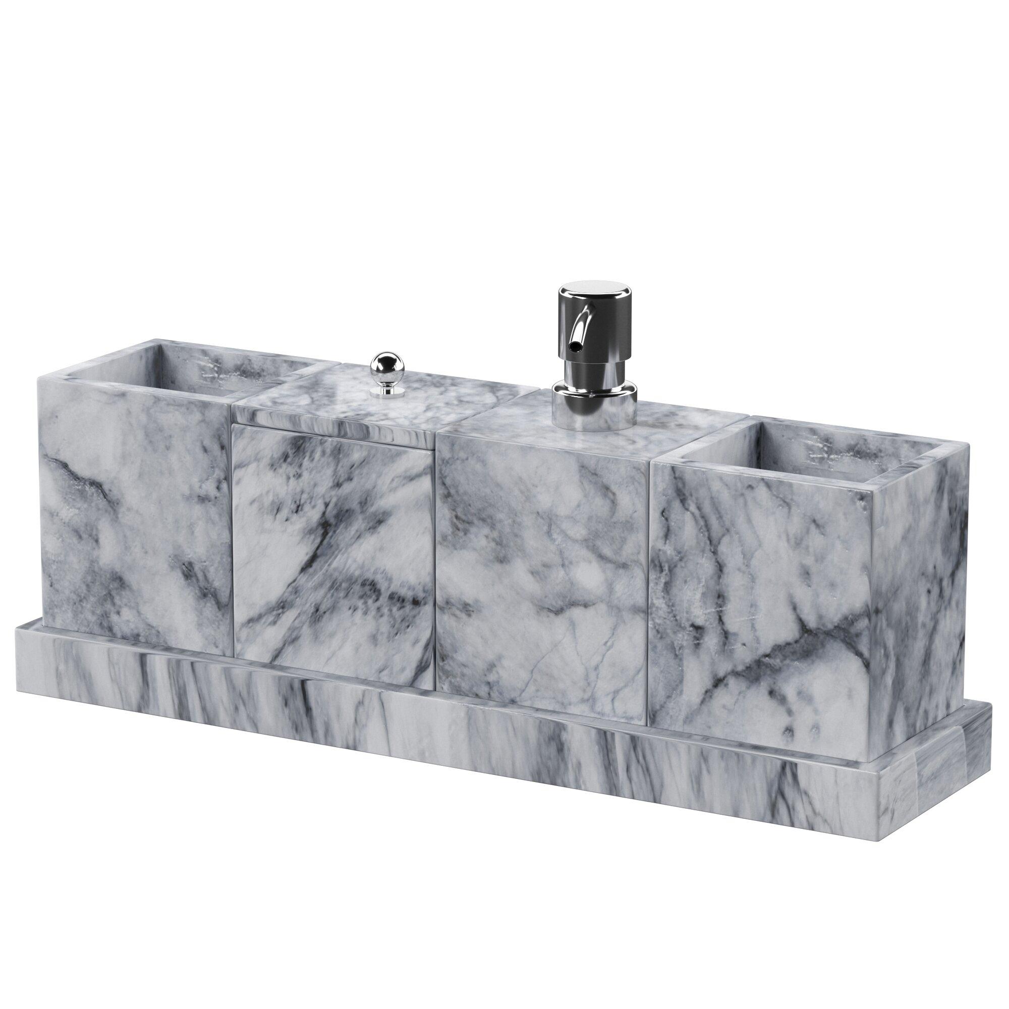 North Point 5 Piece Bathroom Accessory Set Reviews Allmodern
