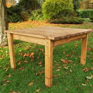 Review Farrar Wooden Coffee Table