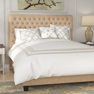 Fresnes Upholstered Panel Bed by Lark Manor