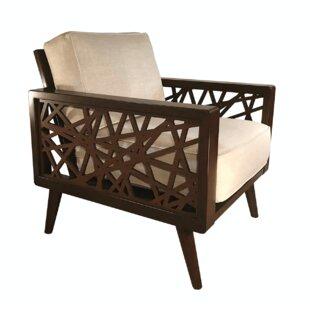 Brayden Studio Franklintown Mid-Century Armchair