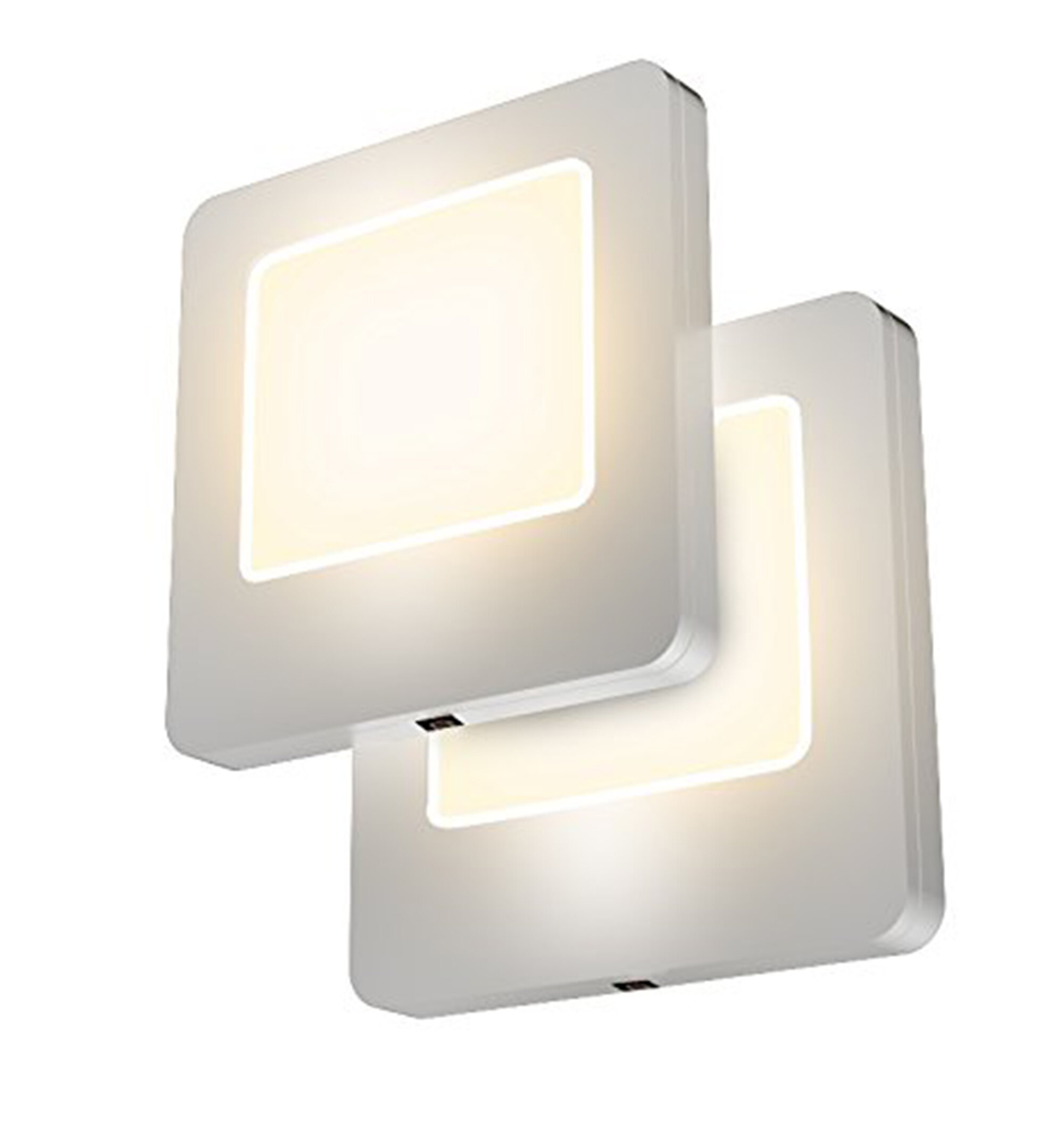 LED Night Light Plug-in Lamp with Dusk to Dawn Sensor for Hallway Kids Bedroom