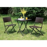 Timm 3 Piece Bistro Set