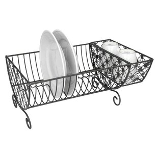 Home Basics Decorative Dish Rack