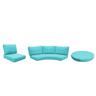 East Village Outdoor 11 Piece Lounge Chair Cushion Set By Rosecliff Heights
