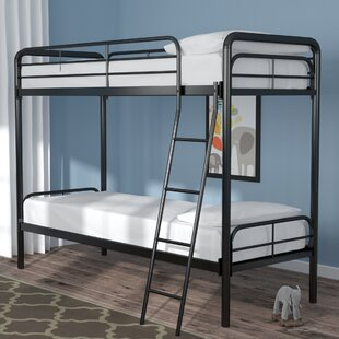 Maryanne Twin Over Twin Bunk Bed by Viv + Rae New