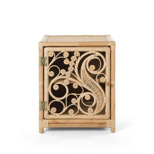 Rosana Peacock Nightstand by Bayou Breeze