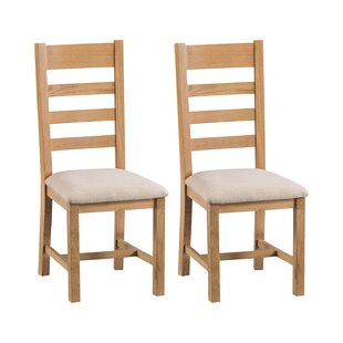 Frederickson Solid Wood Dining Chair (Set Of 2) By Union Rustic