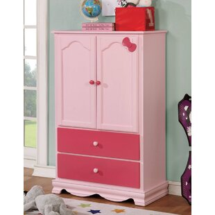 Compare & Buy Morethampstead Kid Armoire by Harriet Bee Reviews (2019) & Buyer's Guide