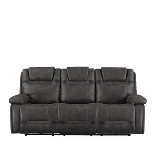 Buy clear Slayden Reclining Sofa by Winston Porter Reviews (2019) & Buyer's Guide