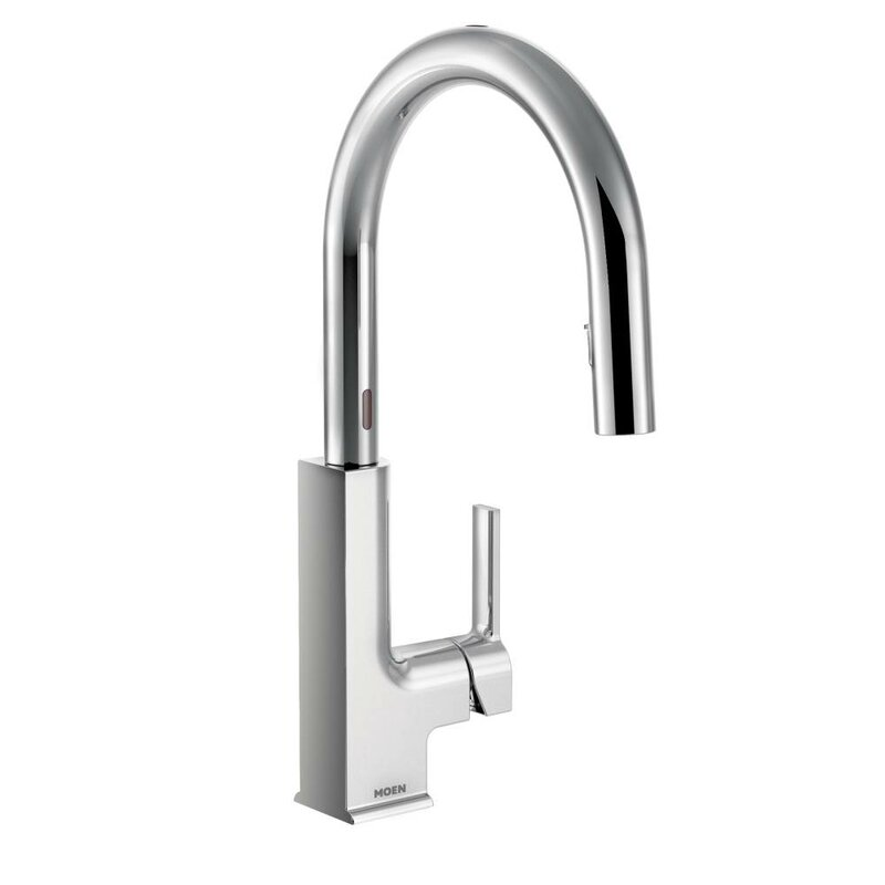 Moen Sto Pull Down Touchless Single Handle Kitchen Faucet & Reviews ...