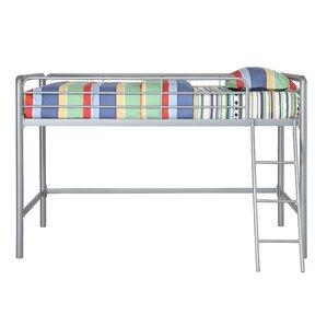 Myron Junior Twin Low Loft Bed by Viv + Rae