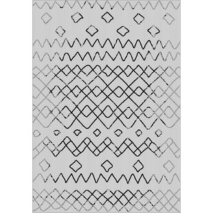Best Reviews Tubbs Gray Indoor/Outdoor Area Rug By Millwood Pines
