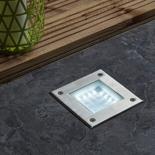 Recessed 16 Light LED Deck Light By Symple Stuff