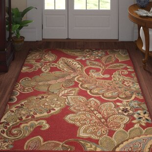 Compare & Buy Needham Dark Red Indoor Area Rug By Three Posts