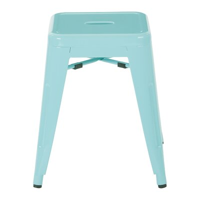 "Blaney 18"" Bar Stool Color: Mint by Brayden Studio"