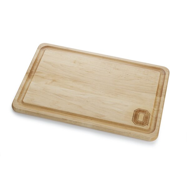 Warther Boards Ohio State Maple Wood Cutting Board Wayfair