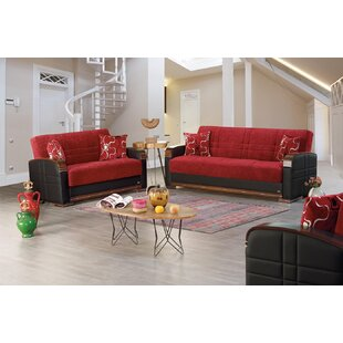 Latitude Run Mears Sleeper Living Room Set