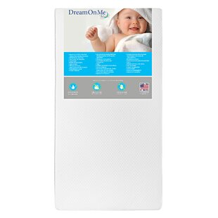 Lullaby 2-Sided 6 Crib and Toddler Mattress by Dream On Me