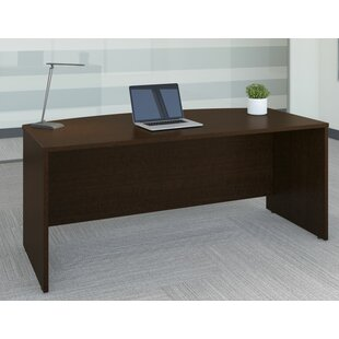 Series C Elite Bow Front Desk Shell