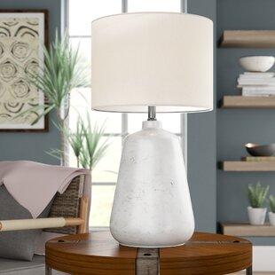 Aryana Ceramic Linen Shade 27 Table Lamp