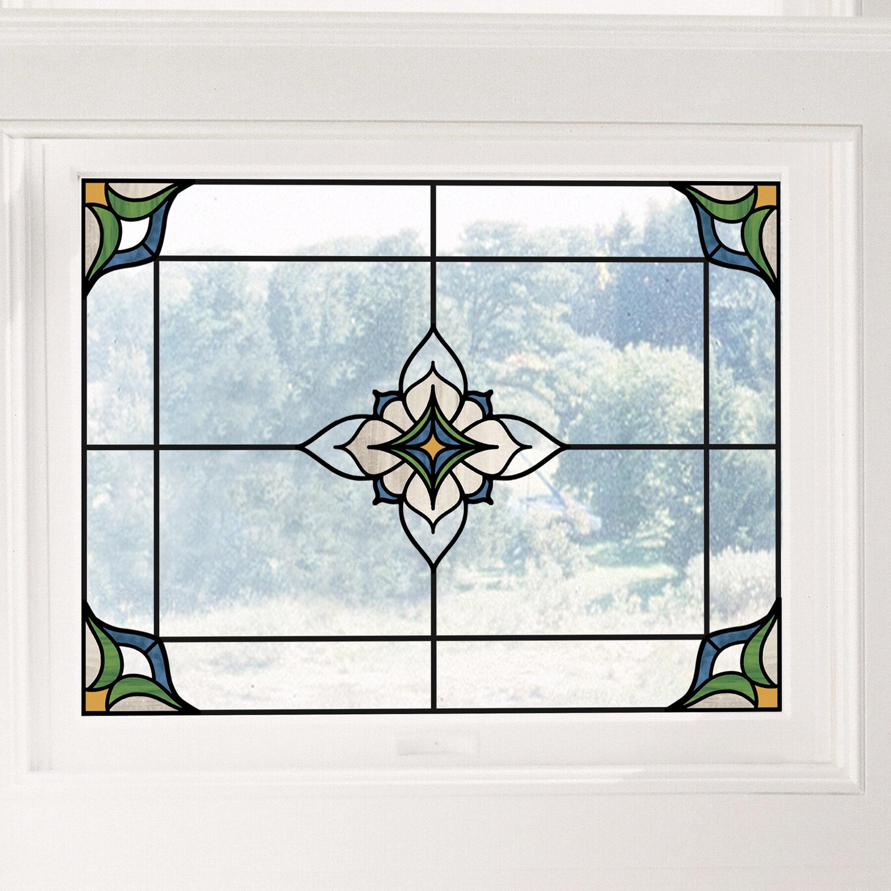 36x24 Garage Sale CGSignLab Basic Teal Window Cling