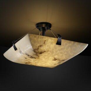 Brayden Studio Keyon 6-Light Semi Flush Mount