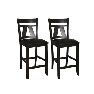 Mckinnie Bar Stool (Set of 2) by Charlton Home