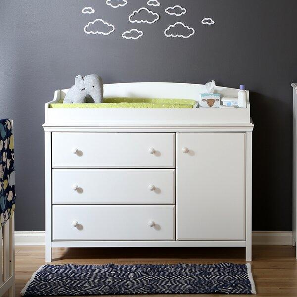 Exceptionnel South Shore Cotton Candy Changing Table Dresser U0026 Reviews | Wayfair