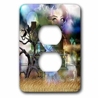 3drose Fairys Magic Oasis 2 Gang Toggle Light Switch Wall Plate Wayfair