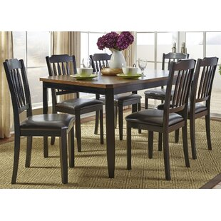Chandlerville 7 Piece Rectangular Dining Set