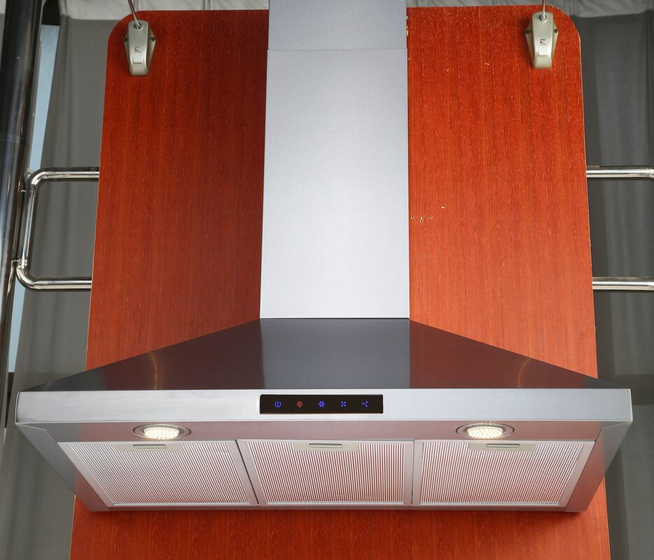 """Hotte de cuisinière à fixation murale 30"""" 412 CFM"""