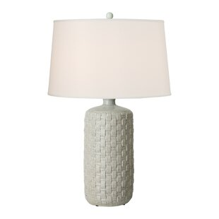 Lockman Round Woven 32 Table Lamp