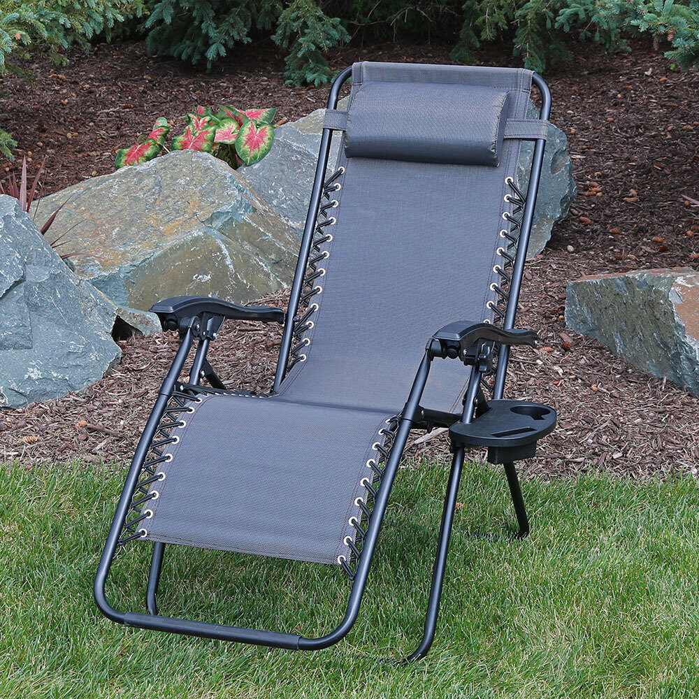 Outdoor zero gravity recliner