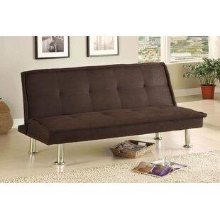 Glennville Tufted Futon Sofa