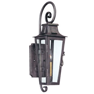 Price comparison Sutton 1-Light Outdoor Wall Lantern By Darby Home Co
