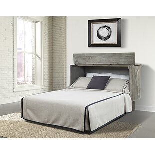 Pyper Marketing LLC Sadie Ash Queen Storage Murphy Bed with Mattress