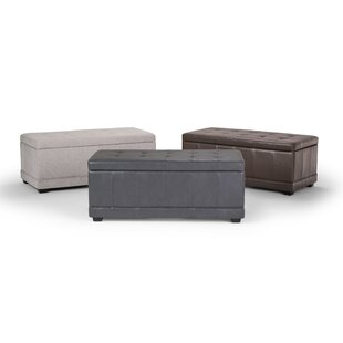 Alta Faux Leather Storage Bench