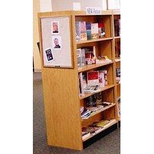 Double Face Shelf 72 Standard Bookcase by W.C. Heller