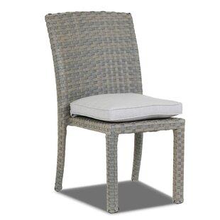 Majorca Armless Patio Dining Chair with Cushion