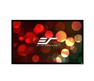 EzFrame2 Gray Fixed Frame Projection Screen by Elite Screens Comparison