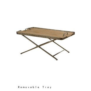 Tyrrel Coffee Table with Tray Top