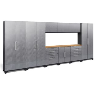 Performance 2.0 10 Piece Storage Cabinet Set By NewAge Products