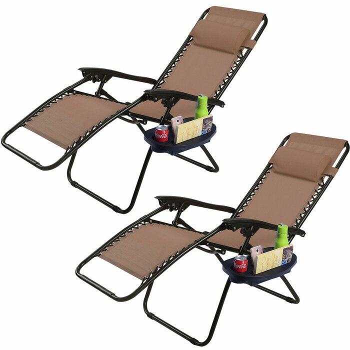 Incredible Kempst Zero Gravity Reclining Sun Lounger Set Caraccident5 Cool Chair Designs And Ideas Caraccident5Info
