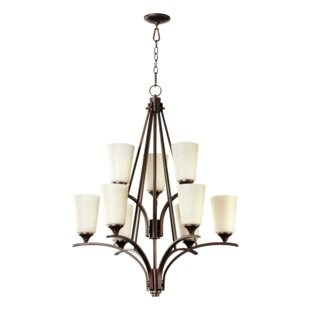 Lemon 6-Light Shaded Chandelier by Charlton Home