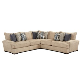 Cooksey Symmetrical Sectional by Darby Home Co