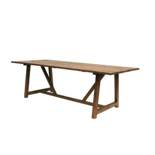 Look for George Exterior Originals Teak Dining Table Great Price