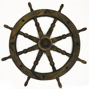 Boxrah Ships Wheel Wall Decor Image