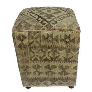 Reichel Kilim Cube Ottoman by World Menagerie