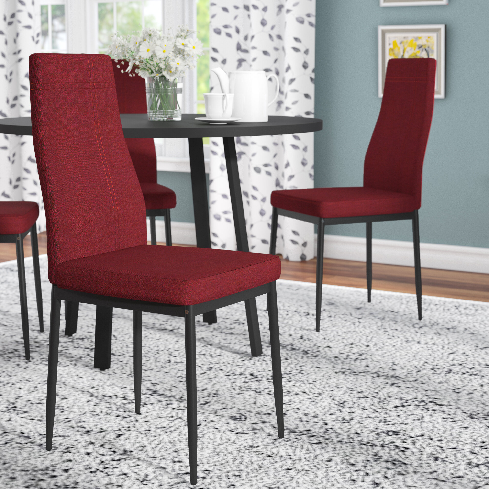 Zipcode Design Cerise Upholstered Dining Chair Reviews Wayfair